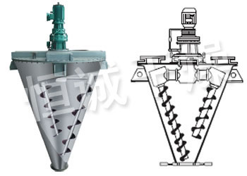 WH Series Double Screw Cone mixer